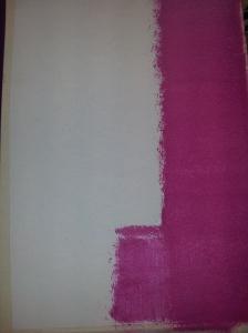 primera mano de color ciruela