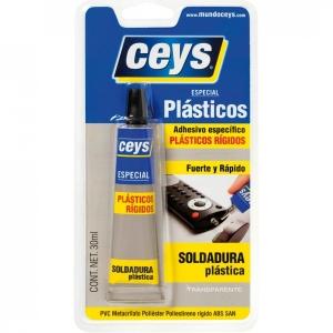 Adhesivos plásticos rígidos