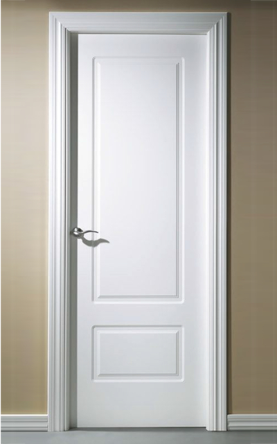 Lacar una puerta de madera deco brico mon - Puertas lacadas blancas ...
