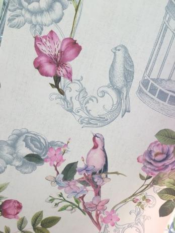 Papel pintado y telas decorativas